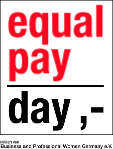 Logo Equal pay day
